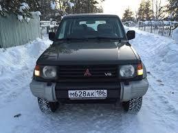 mitsubishi pajero 1997 мицубиси паджеро 1997 3 литра всем привет механическая коробка