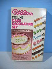 wilton cake decorating kit ebay
