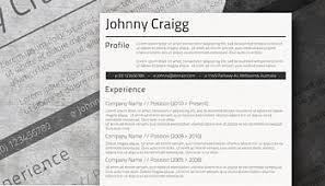 free professional resume templates professional resume template freebie sleek and simple