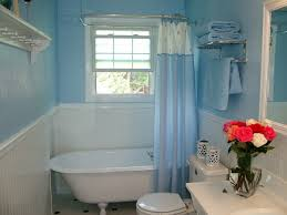 bathroom designs with clawfoot tubs clawfoot tub bathroom design small blue white bathroom with