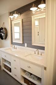 image result for how to brighten a log cabin bathroom with paint