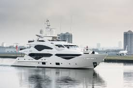 yacht event layout first sunseeker 131 unveiled in london superyacht times