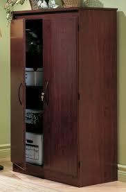 Kitchen Storage Pantry by Wood Floor Cabinet 2 Door Cupboard Shelves Armoire Kitchen Storage