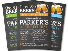 40th birthday invitations u2013 16 free psd vector eps ai format