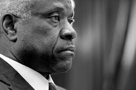 why clarence thomas rarely speaks from the supreme court bench