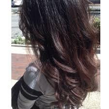 dark hair with grey streaks dark brown hair with grey highlights hairs picture gallery