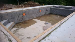 amenagement piscine exterieur aménagement extérieur en béton désactivé terrasse piscine à