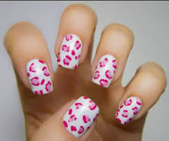 pink cheetah print nails pictures photos and images for
