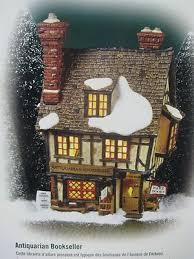 collectible dickens series dept 56 antiquarian bookseller