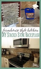 backsplash edge of cabinet or countertop diy travertine stacked stone kitchen backsplash venetian gold