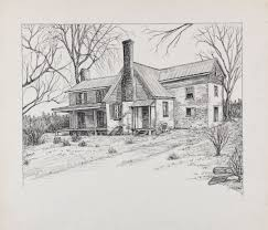 wpa historic houses drawings collection