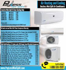 ductless mini split air conditioner payless mini split home facebook