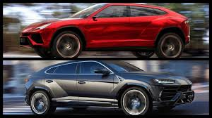 lamborghini urus 2012 lamborghini urus concept takes on 2018 urus production model