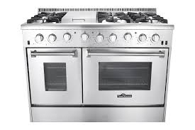 amazon com thor kitchen gas range with 6 burners and double ovens