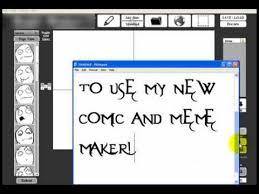 Meme Maker Comic - download comic maker and meme maker youtube