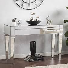 Mirror Console Table Blvd Dakota Contemporary Mirrored Console Table Free