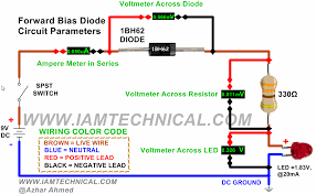 working of pn junction diode 1bh62 in forward bias diode pinterest