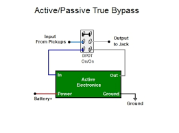active passive true bypass switch