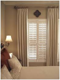 i like this idea for the small window in the master bedroom and to