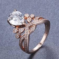 crown rings jewelry images Rose gold crown ring geniemania jpg