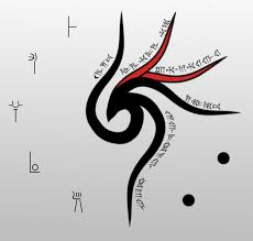 tribal style symbol by aeonclock on deviantart