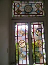 front door glass designs edwardian stained glass windows with numbers google search