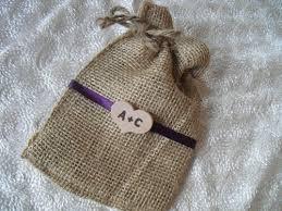 burlap wedding favor bags favor bags set of 10 rustic initial heart burlap wedding favor