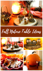 fall nature table ideas for play based learning rhythms of play