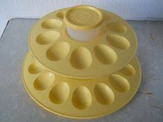 deviled egg holder deviled egg tray carrier 4 vintage tupperware made in usa