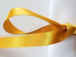 ribbon fabric 10 mm gold sided satin ribbon by berisfords 3 8 inch topaz