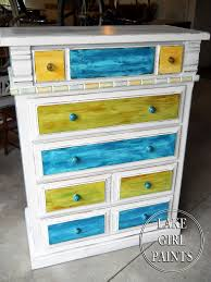 lake paints dresser makeover brown to white beach style