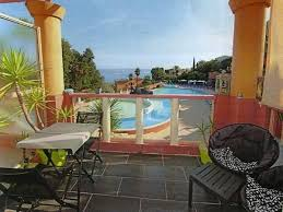 chambre d hote theoule sur mer t2standing piscine vue mer sur baie de cannes location de