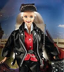 rare harley davidson barbie ken dolls limited edition