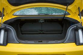 mustang trunk space ford mustang review 2017 autocar