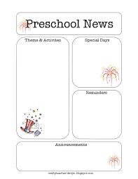 15 best newsletter templates images on pinterest children