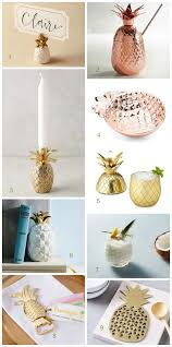 Pineapple Home Decor Pineapple Motif In Home Decor And Tablescapes Design By Occasion