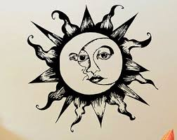 moon symbol etsy