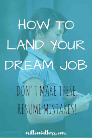 Quicker Jobs Resume by 4 Steps To Getting An Interview At Your Dream Job