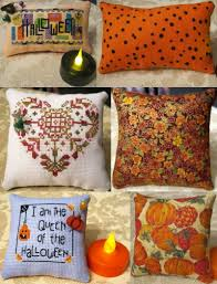 halloween cushions all my x u0027s start in texas family friends and cross stitch page 2
