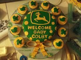 deere baby shower deere boy baby shower cakecentral