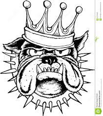 jeep cartoon drawing bulldog king stock vector image 56709680