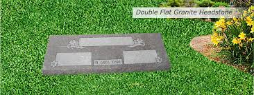 flat headstones for granite headstones and bronze grave markers kansas city