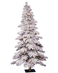 7 ft flocked spruce clear lit christmas tree christmas tree market