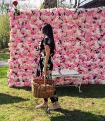 gorgeous flower wall bridal backdrop for hire venues gumtree