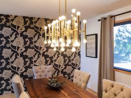 Laminate Flooring High Gloss Dining Room Pendant Lighting Long Single Bench Ideas Black Wooden