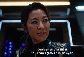 Meme Generator Star Trek - star trek discovery captain philippa georgiou blank template imgflip