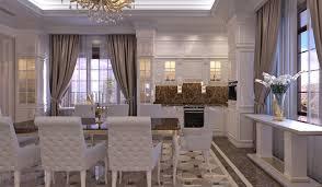 indesignclub interior design of classic style family dining room
