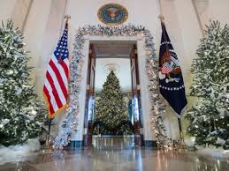the white house decorations include a 300 pound
