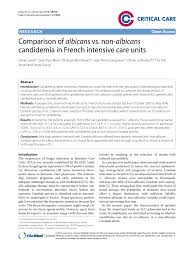 l islation si e auto r ausseur comparison of albicans vs non albicans pdf available