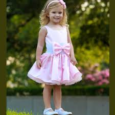dolls and divas couture pink toddler dress